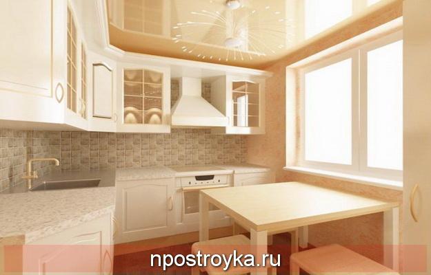 Потолки в кухни хрущевки фото